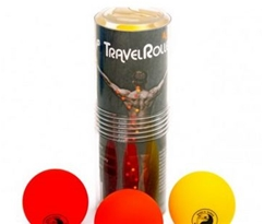 Travel Roller 3-Ball Acupressure Set