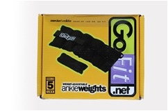 GoFit Ankle Weights 5lb-10lb