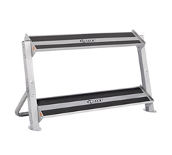 Hoist 4461 36 2-Tier Horizontal Dumbbell Rack
