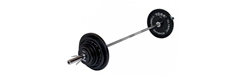 York Fitness 300lb Olympic Barbell Set