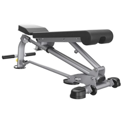 5167 7-Position Folding Flat/Incline/Decline Bench