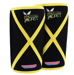 Titan Support Systems Yellow Jacket Knee Sleeves