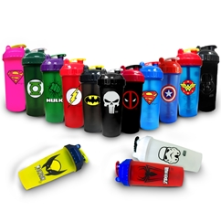 PerfectShaker Superhero Shaker Bottles