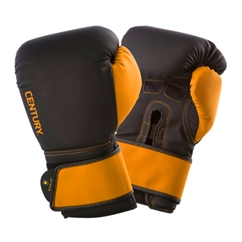 Century Brave Men's Black and Gold Boxing Gloves