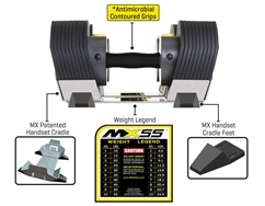 MX55 Dumbbell System With Stand