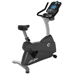 Life Fitness C3 Upright Lifecycle Bike with Track Console