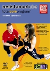 GoFit Resistance Tube Workout DVD