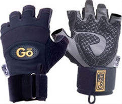 GoFit Diamond Tac Wrist Wrap Gloves