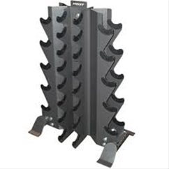Hoist 4480 4-Sided Dumbbell Rack