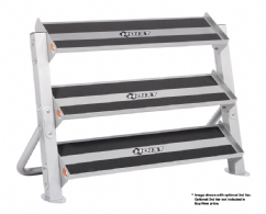 Hoist 4461 36 Inch 3-Tier Horizontal Dumbbell Rack