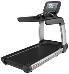 Life Fitness Platinum Club Series Treadmill with 19 Discover SE Touch Screen