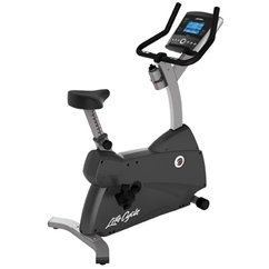 Life Fitness C3 Upright Lifecycle Bike with Go Console
