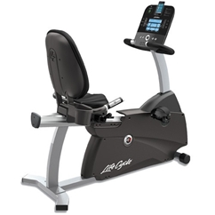 Life Fitness R3 Recumbent Lifecycle Bike w/ Track Console (Floor Model)