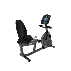 Life Fitness RS3 Recumbent Bike w/ Track Console