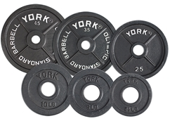 York Fitness 2 inch Olympic Plates