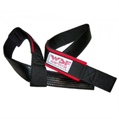 WSF Griptech Padded, Rubberized Lifting Straps