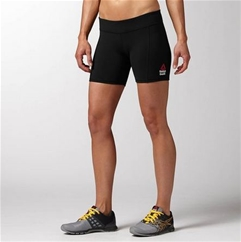Reebok CrossFit Women's Black Chase Mid Short II