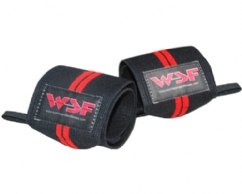 WSF Double Red Wrist Wraps