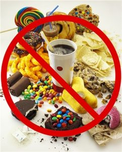 Calories - Avoid Sugary Foods