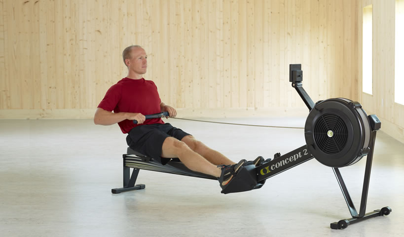 rowing, concept 2