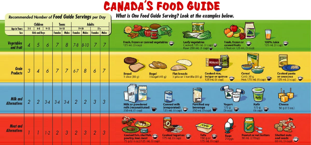 Canada S Food Guide Redesigned