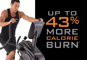 Burn up to 43% more calories