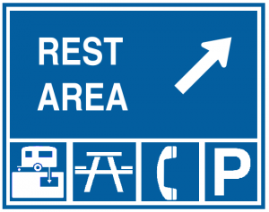 Fitness - Stretch at Rest Areas