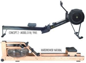 Senior Fitness Blog - Concept 2 Model D & WaterRower Natural Rowing Machines