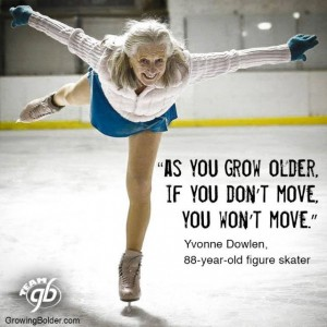 Senior Fitness Blog - As You Grow Older, If You Don't Move... You Won't Move
