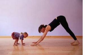 Yoga Girl + Kid